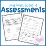 Long Vowel Silent e Phonics Assessments