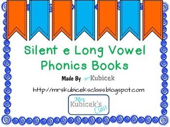 Long Vowel Silent e Phonics Books