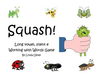 Long Vowel Silent e SQUASH game