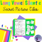 Long Vowel Silent e Secret Picture Tiles