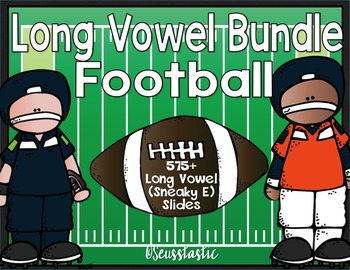 Long Vowel (Sneaky E) Football Bundle