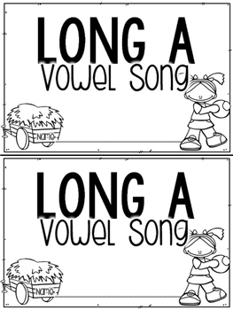 Long Vowel Songs & Booklets