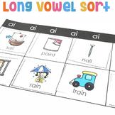 Long Vowel Sort | Long Vowel Center