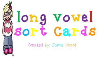 Long Vowel Sort Cards