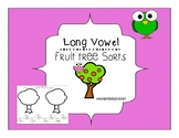 Long Vowel Sorting Bundle ~fruit trees~