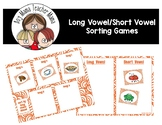 Long Vowel Sorting Cards (includes some short vowels)