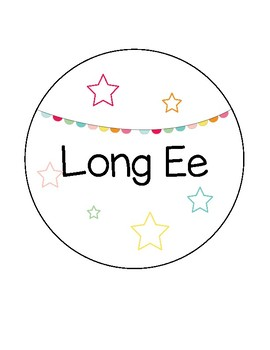 Long Vowel Sorting Center Activities