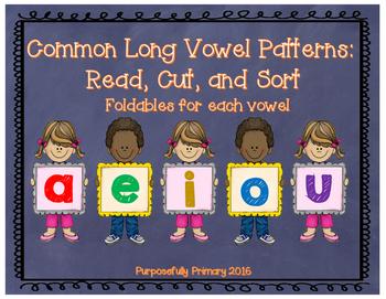 Vowel Sounds: Long Vowel Sorts