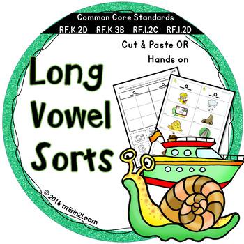 Long Vowel Sorts