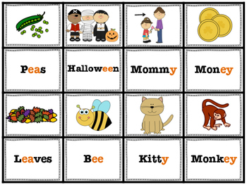 Long Vowel Sorts and Games