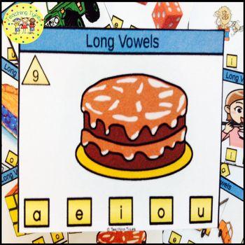 Long Vowels Task Cards
