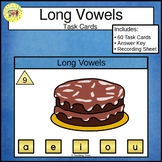 Long Vowels Clip Cards