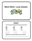 Long Vowel Sound Review Booklet