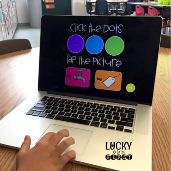 Long Vowel Sound Tappers - Digital Phonics Learning {PowerPoint Games}