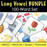 Long Vowel Sound Words - FULL 100 Word Practice Set (Bundle)