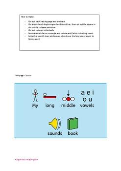 Long Vowel Sound window words