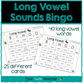 Long Vowel Sounds Bingo - 25 Different Game Cards