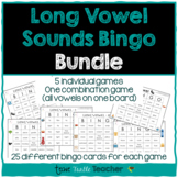 Long Vowel Sounds Bingo Bundle (6 Games)