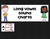 Long Vowel Sounds Chart for Elementary School
