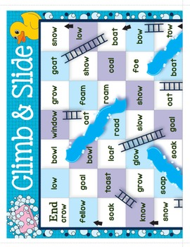 Long Vowel Sounds Climb & Slide Bundle