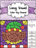 Long Vowel Sounds ~ Color by Sound ~ Christmas Elf