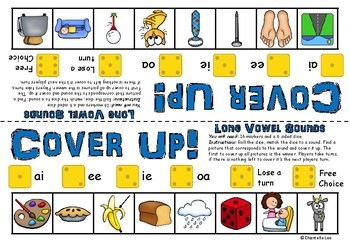 Long Vowel Sounds - Cover Up!