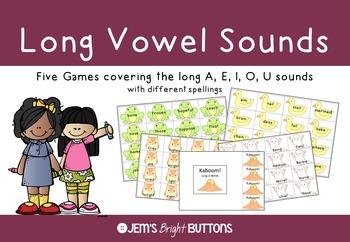 Long Vowel Sounds Games