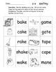 Long Vowel Spelling