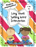 Long Vowel Spelling Intervention