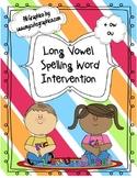 Long Vowel Spelling Intervention