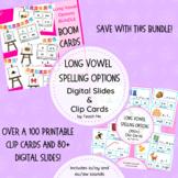 Long Vowel Spelling Options Printable & Digital Bundle
