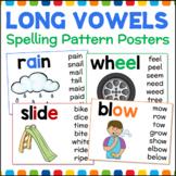 Long Vowel Posters Vowel Teams Spelling Patterns