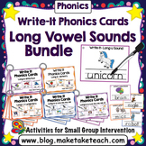 Long Vowel Spelling Patterns Write-It Bundle