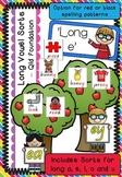 Long Vowel Spelling Sorts