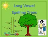 Long Vowels - Spelling Trees