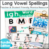 Phonics Posters-Long Vowels Bundle
