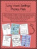 Long Vowel Spellings Phonics Pack