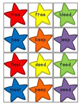 Long Vowel Star Game