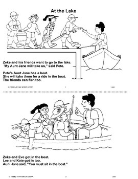 Long Vowel Stories: At the Lake