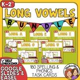 Long Vowel Task Card Bundle