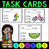 Long Vowel Reading Task Cards