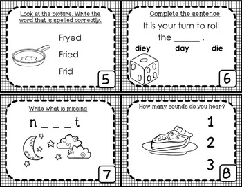 Long Vowel Task Cards - BUNDLE!