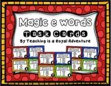 Magic E Task Cards (Multiple Choice)