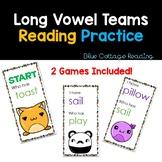 Long Vowel Team Card Game