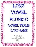 Long Vowel Team PLUNK-O Card Game