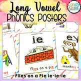 Long Vowel Team Posters with Fun Chants - Includes CVCe Ma