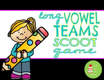 Long Vowel Team SCOOT Game Activity