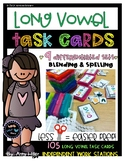 Long Vowel Team Task Cards [Task Box]