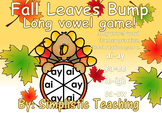 Long Vowel Team ai ay ea ee ie igh oa ow Bump Literacy Center Game Fluency