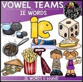 Long I Vowel Team 'ie' (i sound) - Clip Art Bundle {Educlips Clipart}
